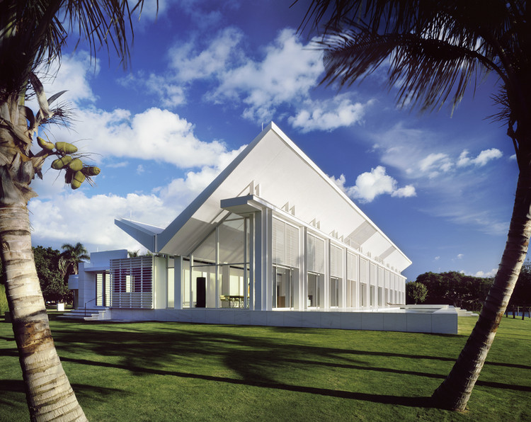 richard meier architecture in naples florida white house