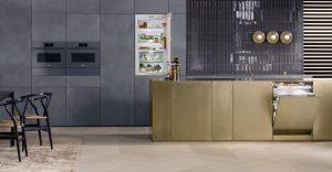 built-in kitchen high tech appliance